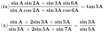 RD Sharma Solutions for Class 11 Maths Chapter 8 – Transformation Formulae image - 13