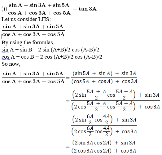 RD Sharma Solutions for Class 11 Maths Chapter 8 – Transformation Formulae image - 15