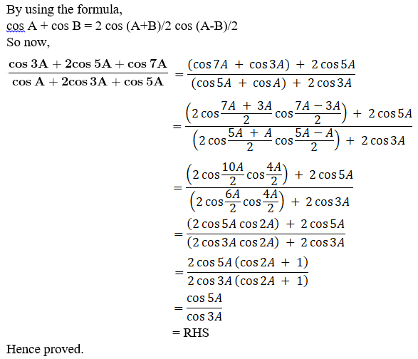 RD Sharma Solutions for Class 11 Maths Chapter 8 – Transformation Formulae image - 18