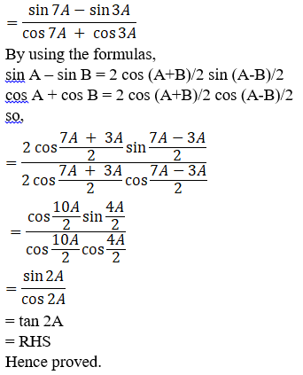 RD Sharma Solutions for Class 11 Maths Chapter 8 – Transformation Formulae image - 31