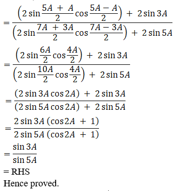 RD Sharma Solutions for Class 11 Maths Chapter 8 – Transformation Formulae image - 35