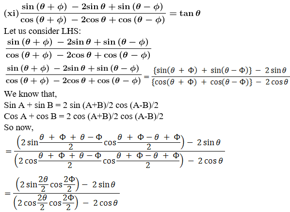 RD Sharma Solutions for Class 11 Maths Chapter 8 – Transformation Formulae image - 36