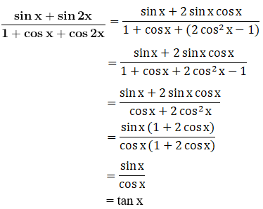 RD Sharma Solutions for Class 11 Maths Chapter 9 – Values of Trigonometric Functions at Multiples and Submultiples of an Angle image - 3