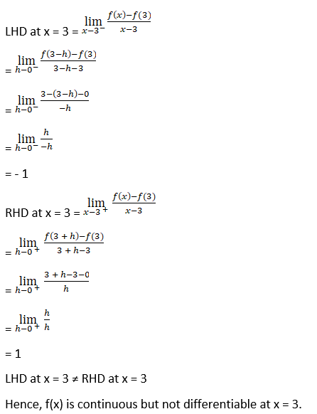 RD Sharma Solutions for Class 12 Maths Chapter 10 Differentiablity Image 2
