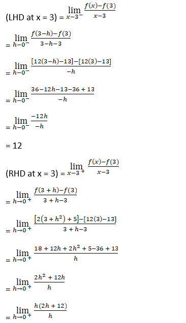 RD Sharma Solutions for Class 12 Maths Chapter 10 Differentiablity Image 6
