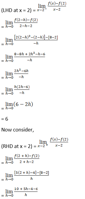 RD Sharma Solutions for Class 12 Maths Chapter 10 Differentiablity Image 9