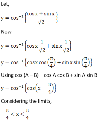 RD Sharma Solutions for Class 12 Maths Chapter 11 Diffrentiation Image 152