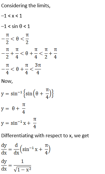 RD Sharma Solutions for Class 12 Maths Chapter 11 Diffrentiation Image 164