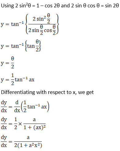 RD Sharma Solutions for Class 12 Maths Chapter 11 Diffrentiation Image 186