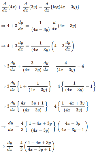 RD Sharma Solutions for Class 12 Maths Chapter 11 Diffrentiation Image 200