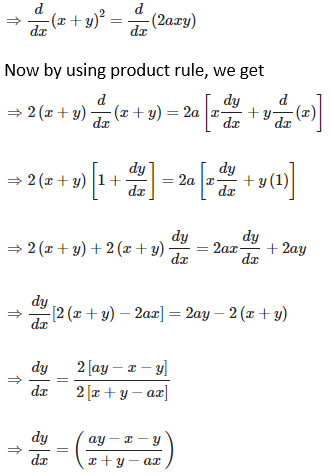 RD Sharma Solutions for Class 12 Maths Chapter 11 Diffrentiation Image 206