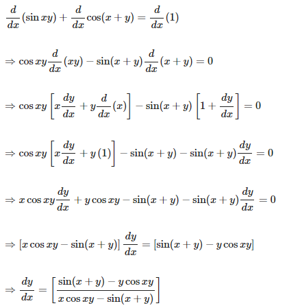 RD Sharma Solutions for Class 12 Maths Chapter 11 Diffrentiation Image 213