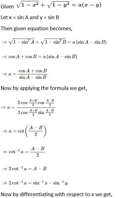 RD Sharma Solutions for Class 12 Maths Chapter 11 Diffrentiation Image 215
