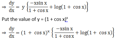 RD Sharma Solutions for Class 12 Maths Chapter 11 Diffrentiation Image 233