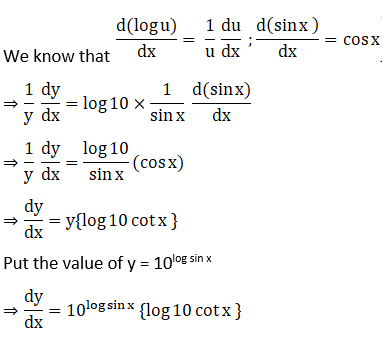 RD Sharma Solutions for Class 12 Maths Chapter 11 Diffrentiation Image 246