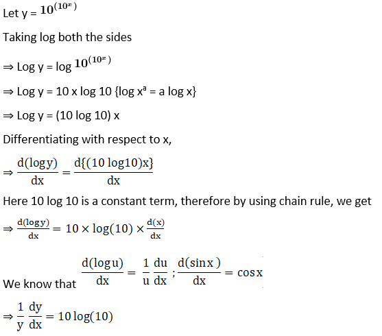 RD Sharma Solutions for Class 12 Maths Chapter 11 Diffrentiation Image 250