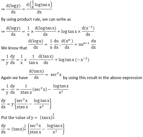 RD Sharma Solutions for Class 12 Maths Chapter 11 Diffrentiation Image 260