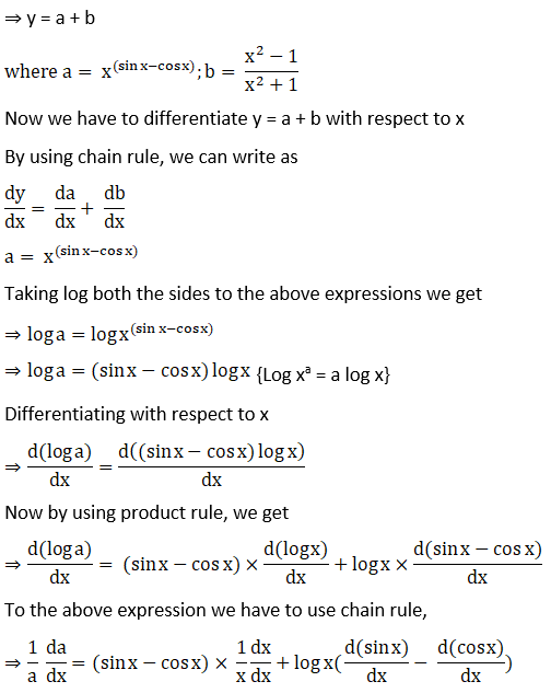 RD Sharma Solutions for Class 12 Maths Chapter 11 Diffrentiation Image 269