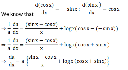 RD Sharma Solutions for Class 12 Maths Chapter 11 Diffrentiation Image 270