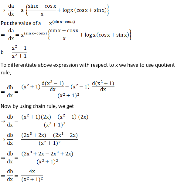 RD Sharma Solutions for Class 12 Maths Chapter 11 Diffrentiation Image 271