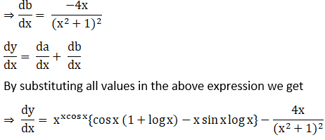 RD Sharma Solutions for Class 12 Maths Chapter 11 Diffrentiation Image 278