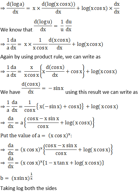 RD Sharma Solutions for Class 12 Maths Chapter 11 Diffrentiation Image 281