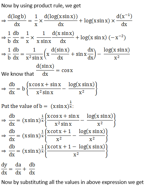 RD Sharma Solutions for Class 12 Maths Chapter 11 Diffrentiation Image 283
