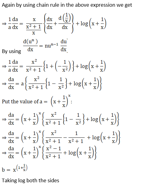RD Sharma Solutions for Class 12 Maths Chapter 11 Diffrentiation Image 288