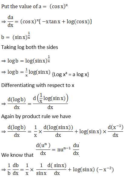 RD Sharma Solutions for Class 12 Maths Chapter 11 Diffrentiation Image 298