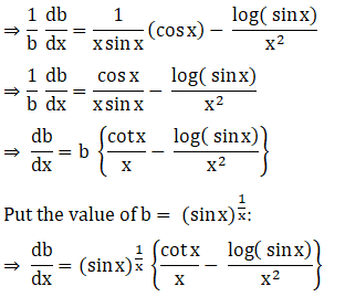 RD Sharma Solutions for Class 12 Maths Chapter 11 Diffrentiation Image 299