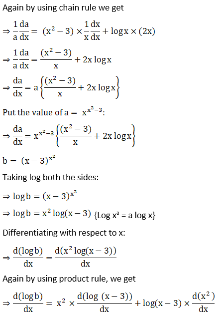 RD Sharma Solutions for Class 12 Maths Chapter 11 Diffrentiation Image 302