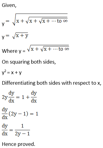 RD Sharma Solutions for Class 12 Maths Chapter 11 Diffrentiation Image 316