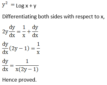 RD Sharma Solutions for Class 12 Maths Chapter 11 Diffrentiation Image 322
