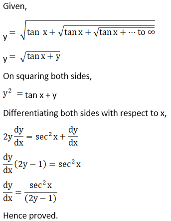 RD Sharma Solutions for Class 12 Maths Chapter 11 Diffrentiation Image 324