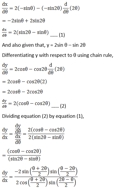 RD Sharma Solutions for Class 12 Maths Chapter 11 Diffrentiation Image 359