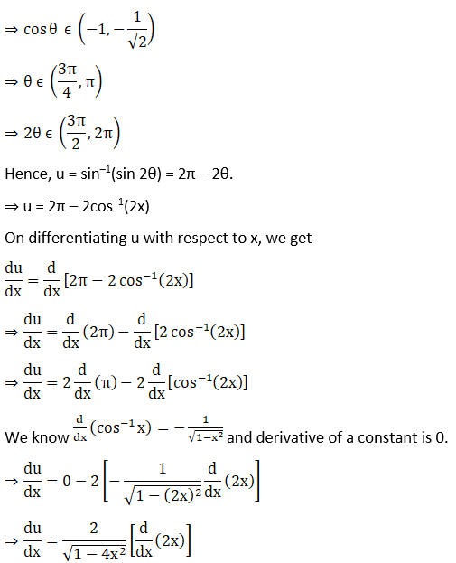 RD Sharma Solutions for Class 12 Maths Chapter 11 Diffrentiation Image 397