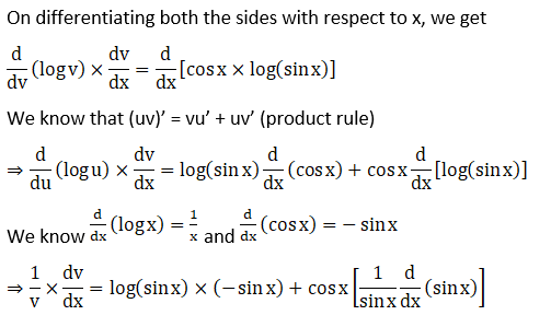RD Sharma Solutions for Class 12 Maths Chapter 11 Diffrentiation Image 423