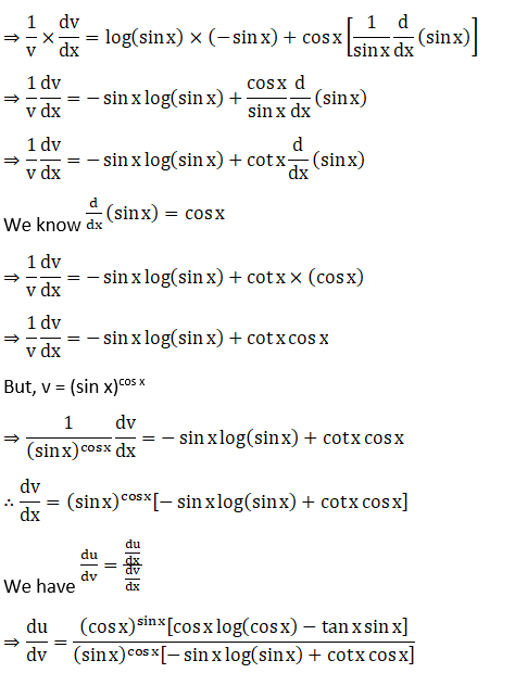 RD Sharma Solutions for Class 12 Maths Chapter 11 Diffrentiation Image 424