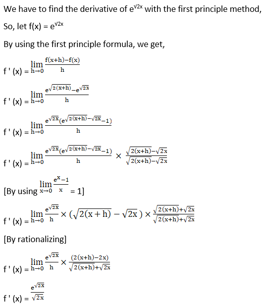 RD Sharma Solutions for Class 12 Maths Chapter 11 Diffrentiation Image 8