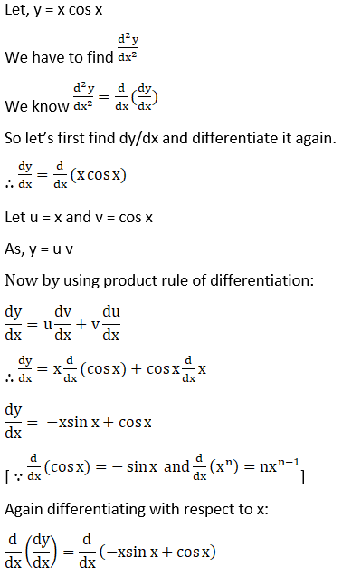 RD Sharma Solutions for Class 12 Maths Chapter 12 Higher Order Derivatives Image 17