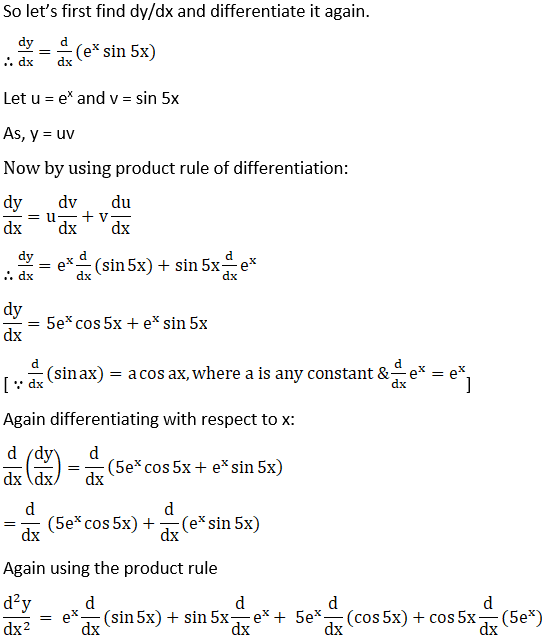 RD Sharma Solutions for Class 12 Maths Chapter 12 Higher Order Derivatives Image 8