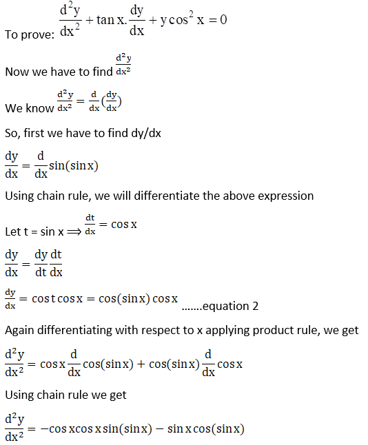 RD Sharma Solutions for Class 12 Maths Chapter 12 Higher Order Derivatives Image 86