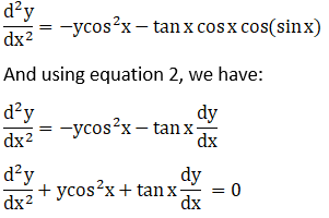 RD Sharma Solutions for Class 12 Maths Chapter 12 Higher Order Derivatives Image 87
