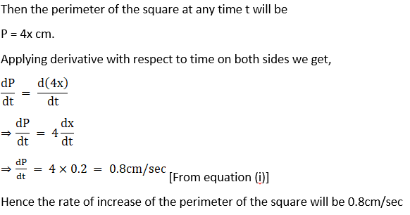 RD Sharma Solutions for Class 12 Maths Chapter 13 Derivative as a Rate Measurer Image 10