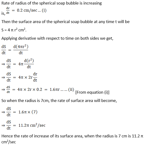 RD Sharma Solutions for Class 12 Maths Chapter 13 Derivative as a Rate Measurer Image 12