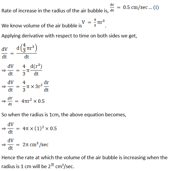 RD Sharma Solutions for Class 12 Maths Chapter 13 Derivative as a Rate Measurer Image 15