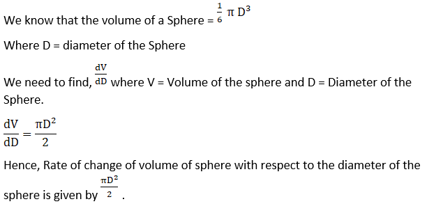 RD Sharma Solutions for Class 12 Maths Chapter 13 Derivative as a Rate Measurer Image 2