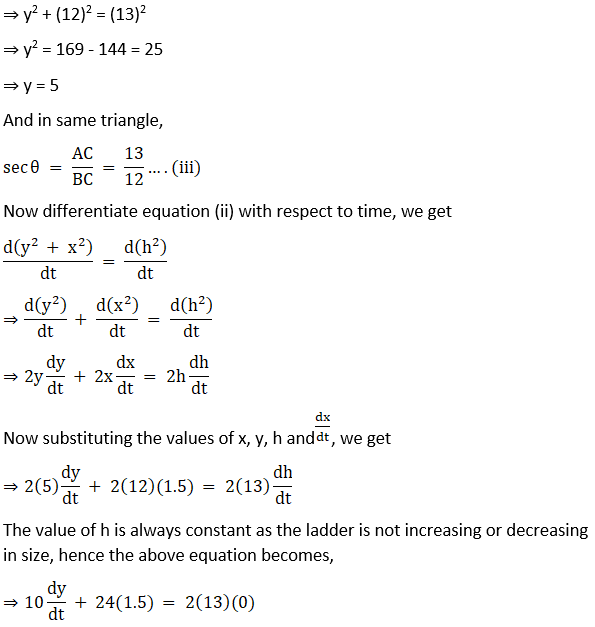 RD Sharma Solutions for Class 12 Maths Chapter 13 Derivative as a Rate Measurer Image 29