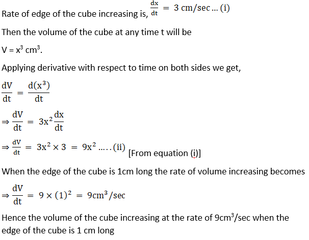 RD Sharma Solutions for Class 12 Maths Chapter 13 Derivative as a Rate Measurer Image 8