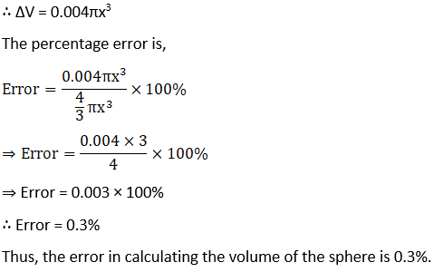 RD Sharma Solutions for Class 12 Maths Chapter 14 Differentials, Errors and Approximations Image 13